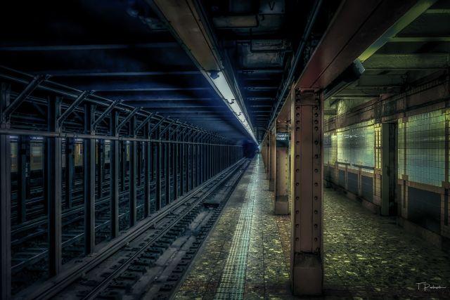 Franklin Street Subway Station